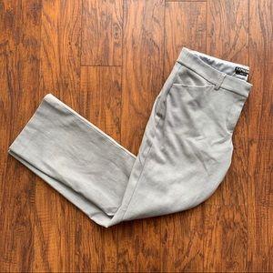 Express Editor Gray Dress Pants | Size 10s